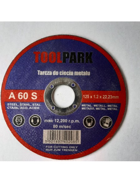 TARCZA DO METALU 125x1,2