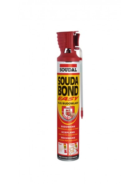 KLEJ DO STYROPIANU SOUDA BOND EASY 750ml Z APLIKATOREM
