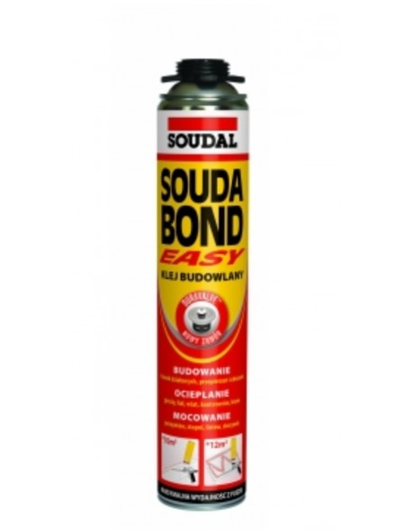 KLEJ DO STYROPIANU SOUDA BOND EASY 750ml PISTOLET